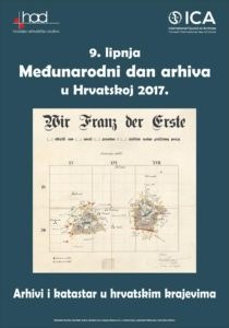 Plakat za Međunarodni dan arhiva 2017. godine